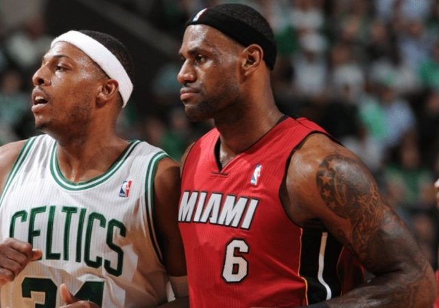 """""""After you guard LeBron James, you're gonna be sore for a few days"""": Paul Pierce details how dreadful it is going up against the King and why he's the best finisher the NBA has seen"""
