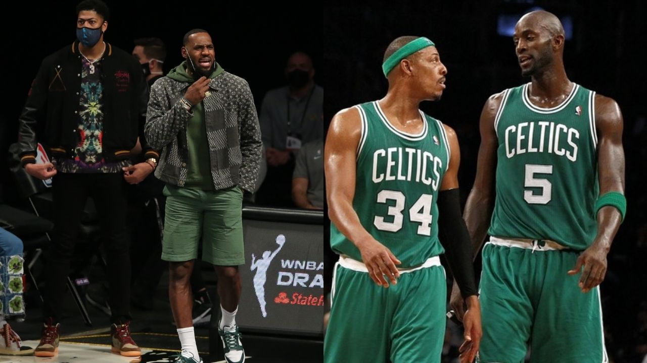 """""""Playing with LeBron James and Anthony Davis is like playing with Pual Pierce and Kevin Garnett"""": When Avery Bradley compared the legendary Lakers and Celtics duos"""