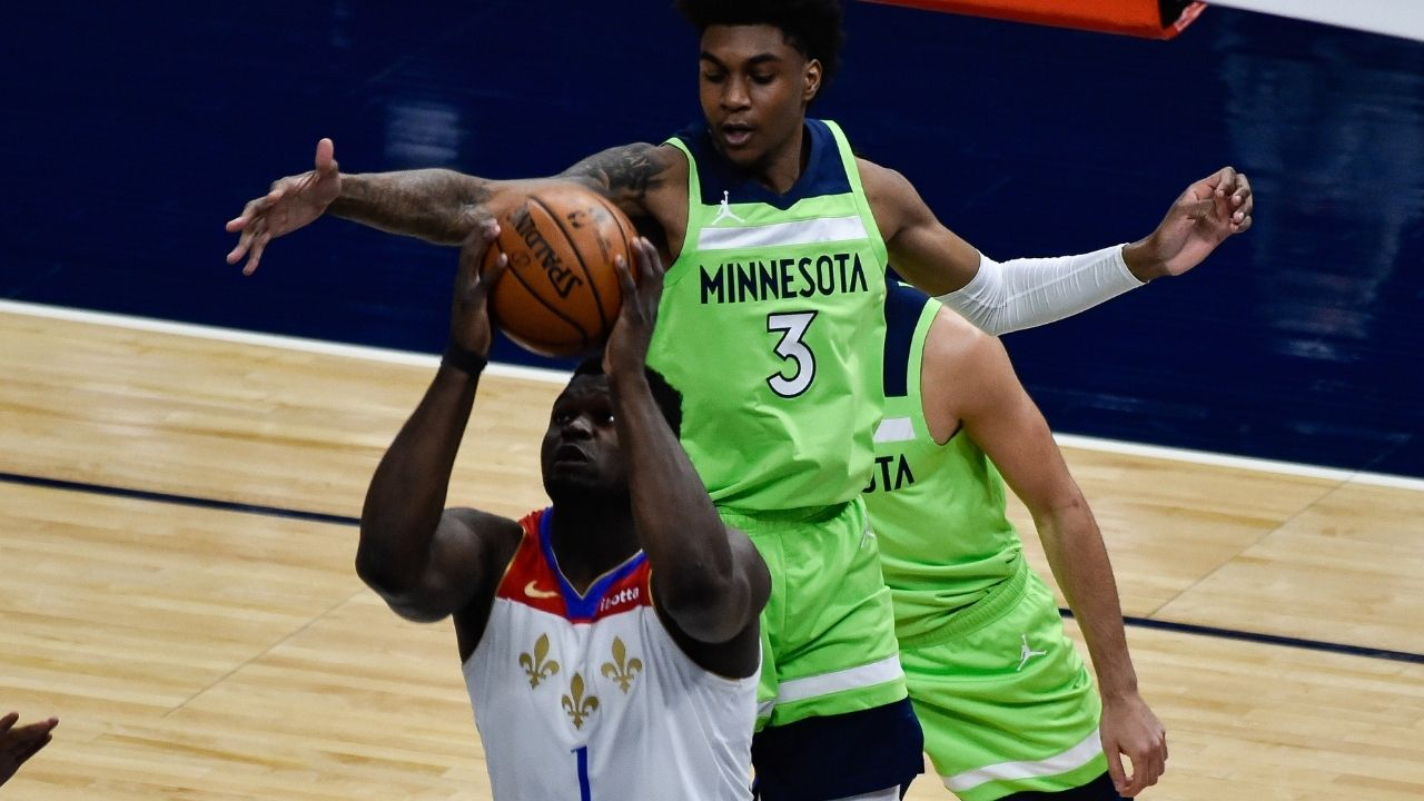 """""""Zion Williamson got blocked 2 times a game last season"""": 2019 #1 pick was blocked more than any other NBA player in 2020-21 in list that includes RJ Barrett and Collin Sexton"""