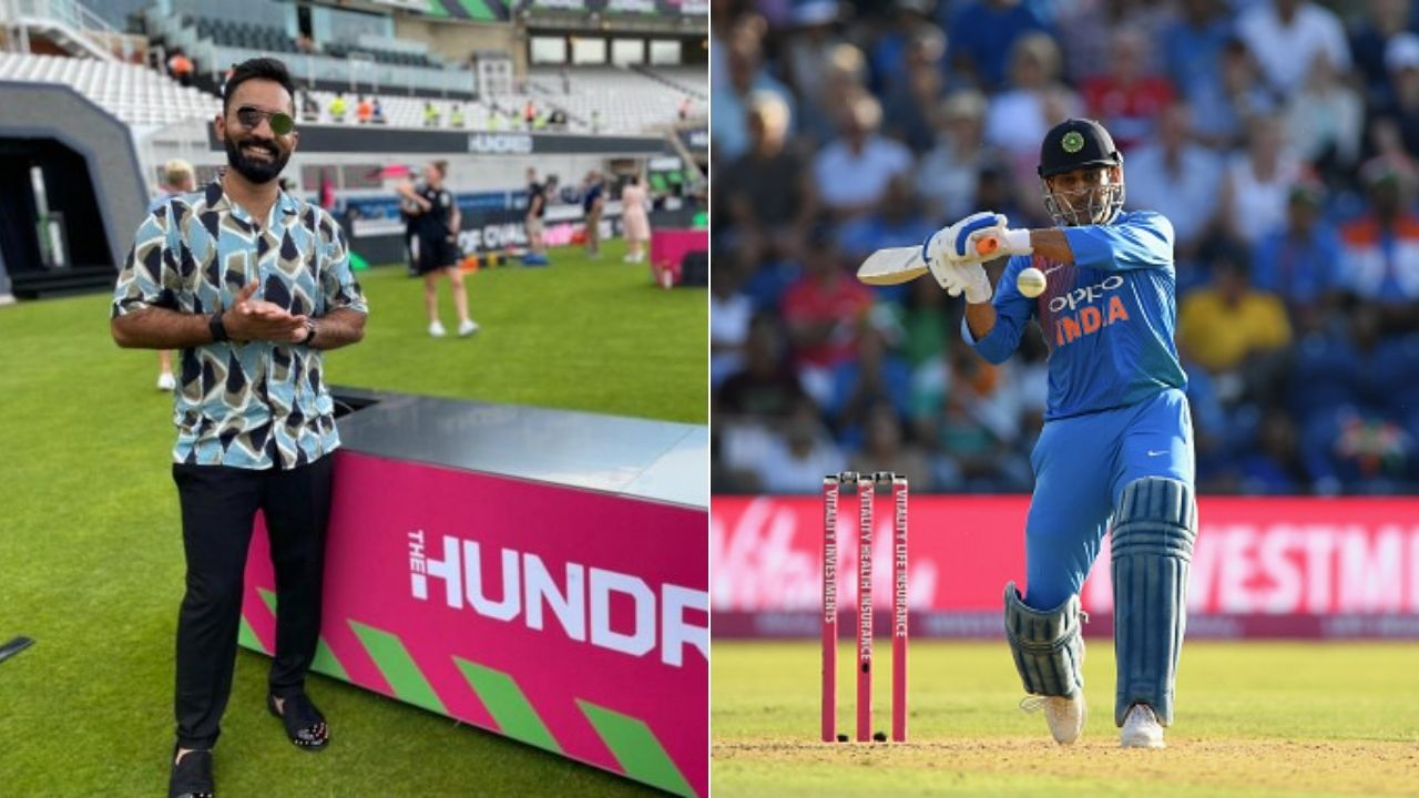 """""""Master stroke"""": Dinesh Karthik amazed as MS Dhoni appointed as Team India Mentor for ICC T20 World Cup 2021"""