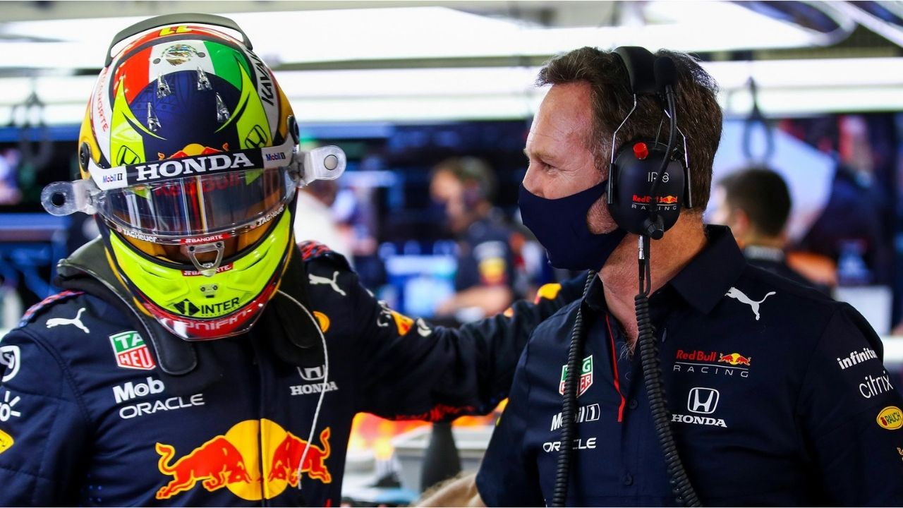 """""""Sad to finish third on the road but fifth overall"""" - Red Bull boss Christian Horner doesn't agree with 5-second penalty given to Sergio Perez at Monza"""