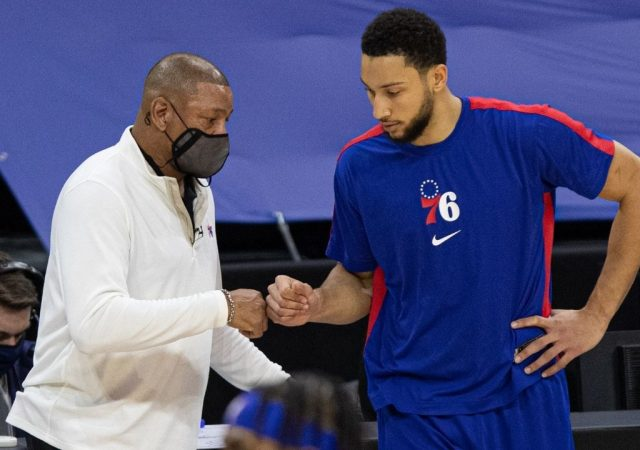 """""""There are times where I think we're getting through with the Ben Simmons situation"""": Sixers' Head Coach Doc Rivers draws a Donald Trump comparison while addressing Simmons' future with the team"""