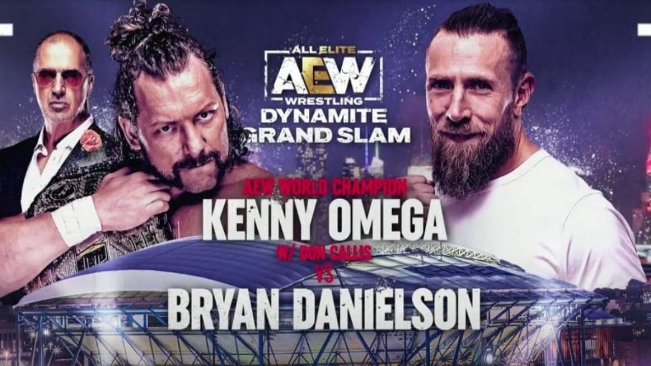 Kenny Omega vs Bryan Danielson announced for AEW Dynamite Grand Slam