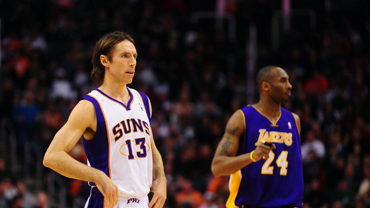 'Vote For Me Because I'm Awesome': Steve Nash trolls himself by posting Kobe Bryant posterizing him in hilarious All-Star bid for 2009