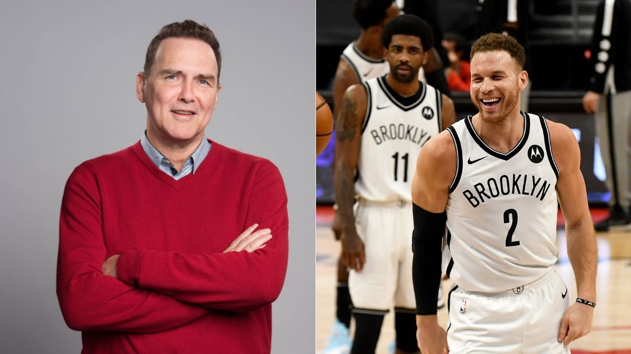 """""""Dear Mr Norm MacDonald, I'll try as hard as I can to repeat as Rookie of the Year"""": Nets forward Blake Griffin recalls his favorite moment with the late comic legend"""
