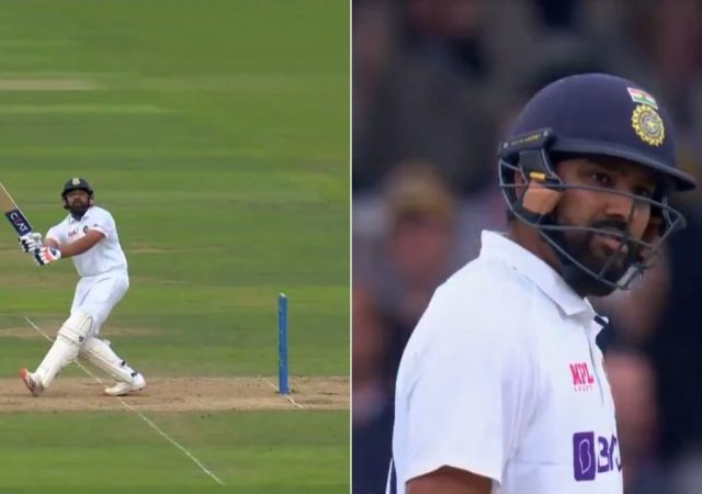 Rohit Sharma wicket: Ollie Robinson dismisses Rohit Sharma and Cheteshwar Pujara in first over with new ball at The Oval
