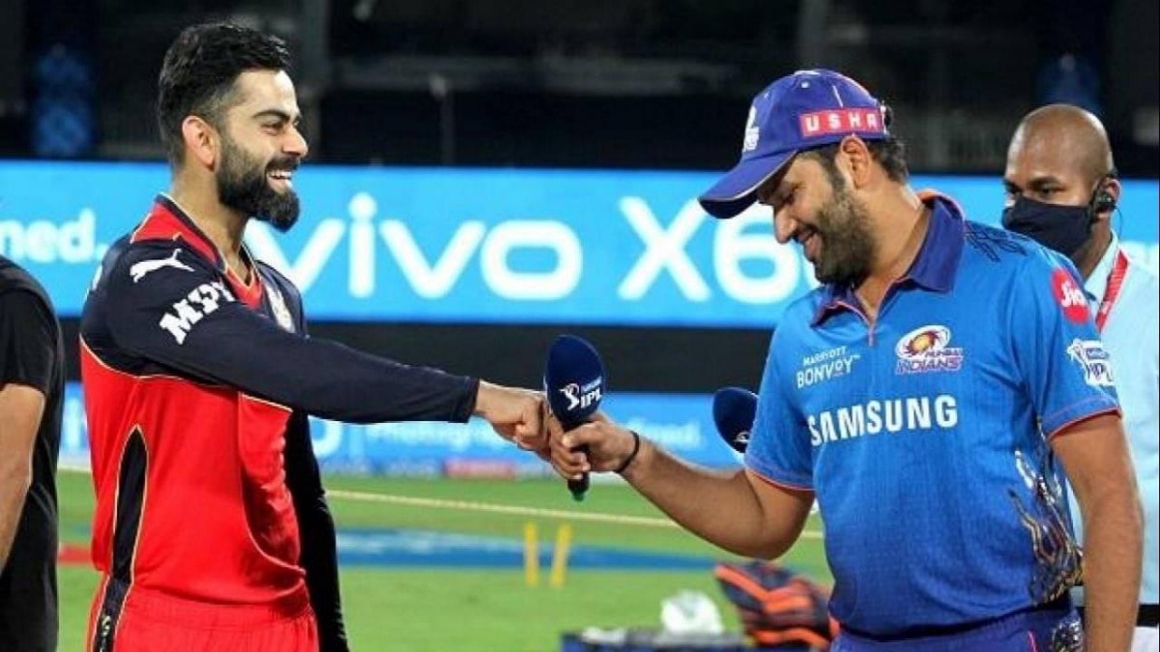 RCB vs MI Head to Head in IPL history   Royal Challengers Bangalore vs Mumbai Indians IPL Stats   IPL 2021 Match 39