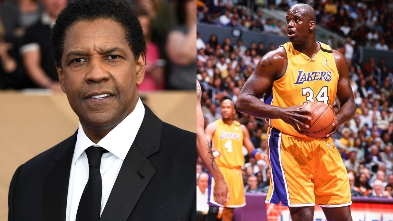 """""""Shaquille O'Neal, you can't do this to me!"""": When the Lakers legend convinced Denzel Washington to recite his iconic 'King Kong' monologue from 'Training Day'"""