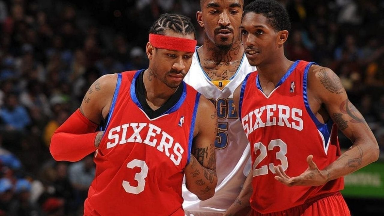 """""""It's inspirational how a moment with Allen Iverson led to Lou Williams shaping his career"""": Chris Webber talks about the moment when the 'Underground GOAT' decided to become the best 6th man in the NBA"""