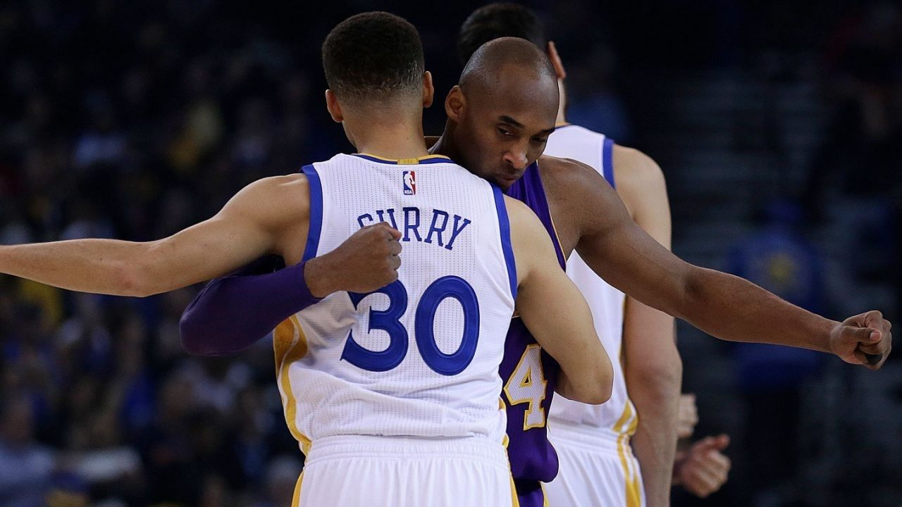 """""""Stephen Curry, go ahead and make history!"""": When Lakers' legend Kobe Bryant encouraged the Chef and the 2015-16 Warriors to chase NBA History"""