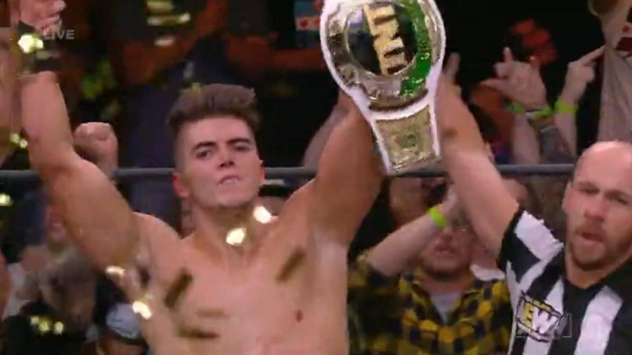 Sammy Guevara wins AEW TNT Championship from Miro on Dynamite