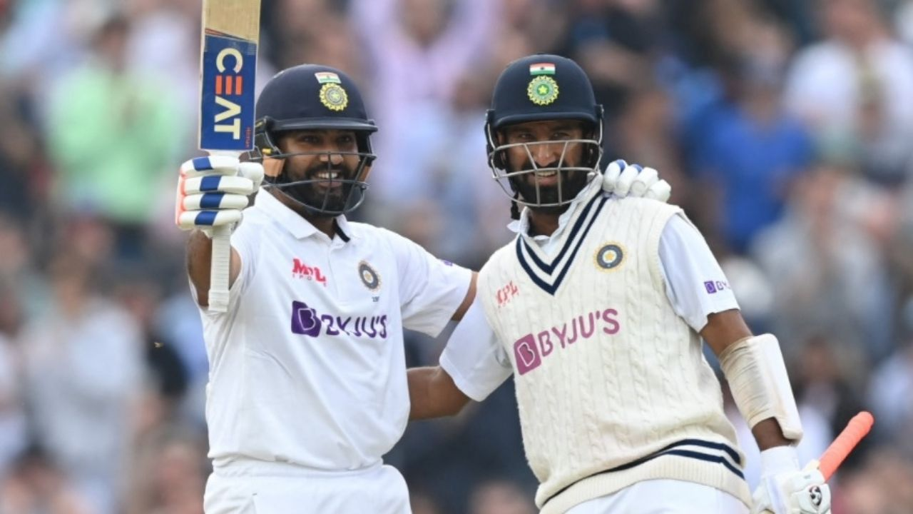 Rohit Sharma Injury Update: Rohit Sharma and C Pujara not on the field due to injuries in 4th innings of Oval Test