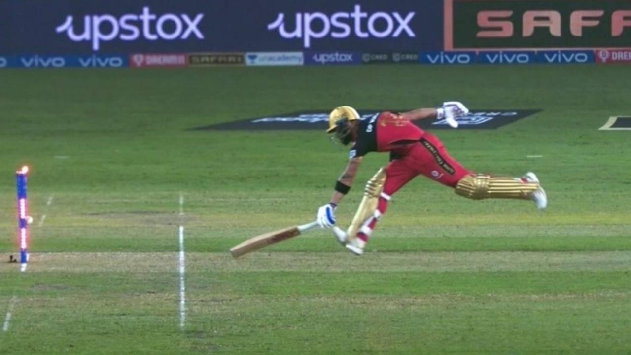 Virat Kohli run out today: RCB captain found wanting against Riyan Parag's direct-hit in RR vs RCB IPL 2021 match