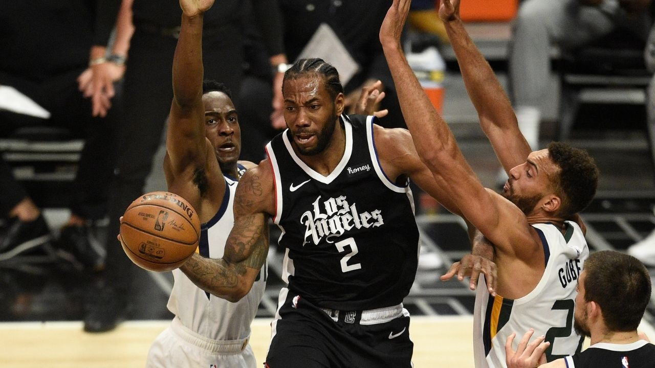 """""""Have you seen Kawhi Leonard work out? That's how he speaks"""": Clippers superstar's former teammates explain how the 2-time Finals MVP leads by example"""