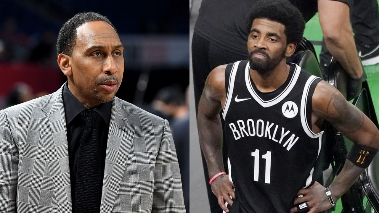 """""""If Kyrie Irving isn't going to take the vaccine, TRADE HIM!"""": Stephen A Smith talks about how the star guard would stop Kevin Durant and the Nets from winning a ring"""