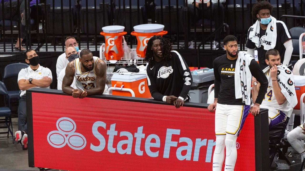 """""""Anthony Davis doesn't love me like that"""": Montrezl Harrell fuels rumors of rift within Lakers' ranks last season with answer regarding his absence from AD's wedding"""