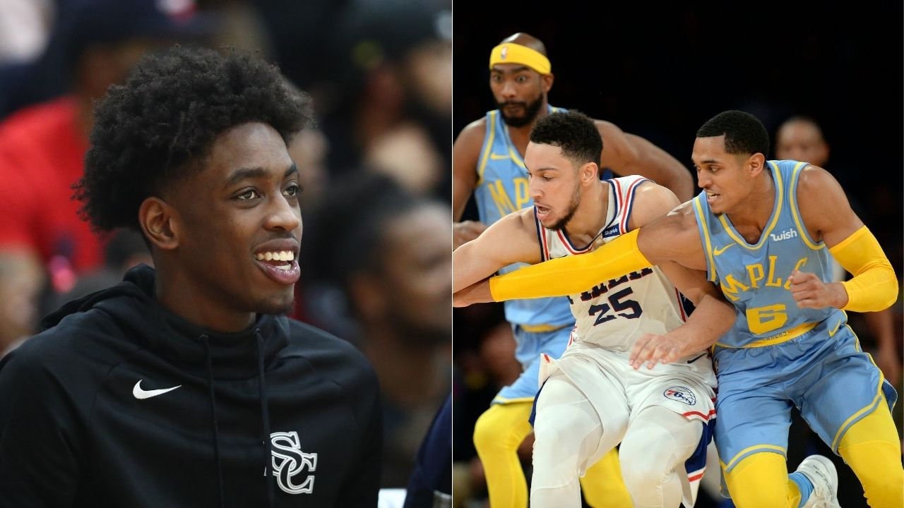 """""""Zaire Wade was hooping with Ben Simmons and Jordan Clarkson"""": Dwyane Wade's son shows us glimpses of a future NBA star"""