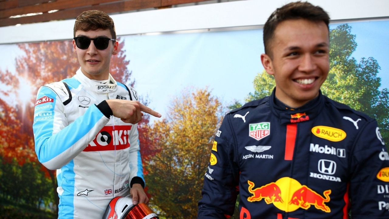 """""""I owe him a couple of beers""""– Alex Albon on George Russell being 'too supportive' for his Williams move"""