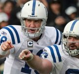 """""""Quit Calling the F**king Plays Jeff Saturday!"""": When Peyton Manning Lost His Cool On the Sideline Before Remembering He Was Mic'd Up"""