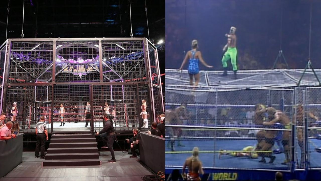 Chris Jericho reveals Elimination Chambers was originally going to be WarGames