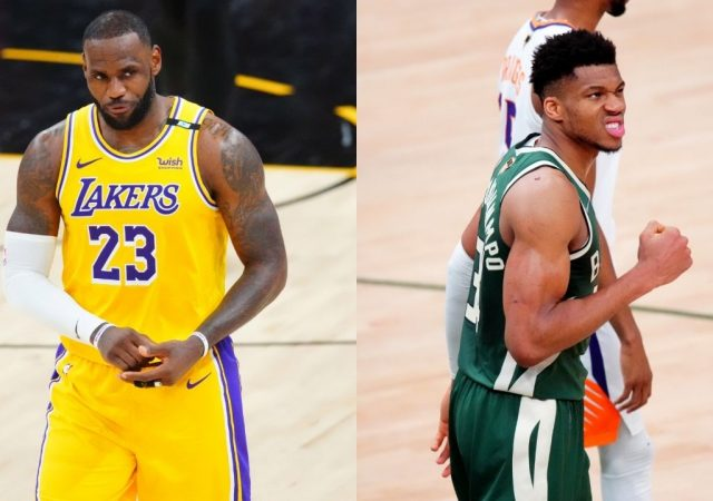 """""""LeBron James is the best player in the world, not me"""": Giannis Antetokounmpo gives the Lakers superstar his flowers despite winning the Bucks a title"""