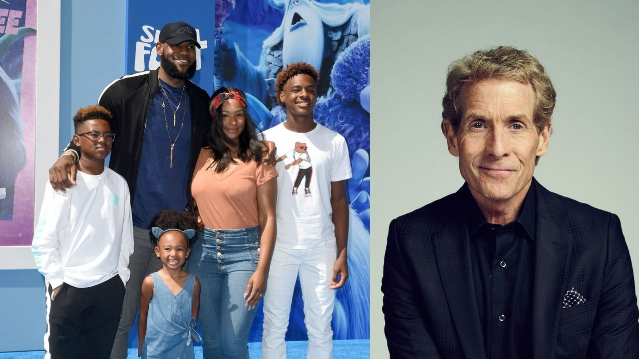 """""""Skip Bayless has 2x more posts about LeBron James than Savannah James and Bronny James combined!"""": Astonishing fact about the NBA analyst and King James makes its rounds on social media"""