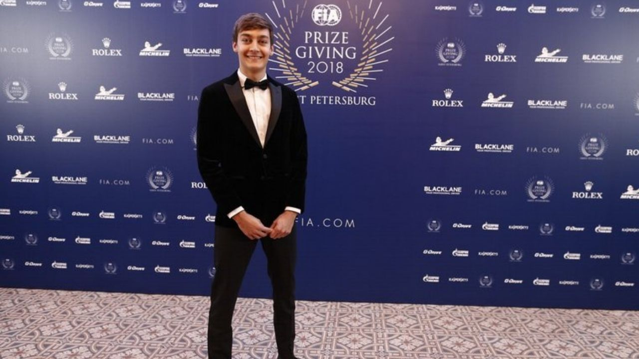 From the Vault: When a young George Russell impressed Mercedes boss Toto Wolff, with a PowerPoint presentation!