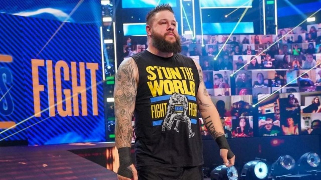 WWE expect Kevin Owens to leave at the end of his contract