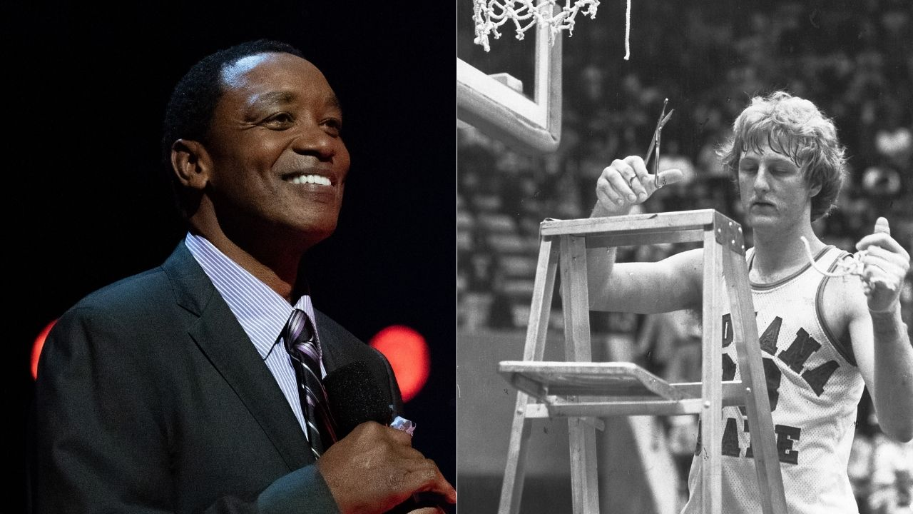 """""""Magic and Michael Jordan and me, we're playing on talent, but Larry Bird is intelligent and works hard?"""": When Isiah Thomas was forced to apologize for insulting Celtics legend in passionate rant"""