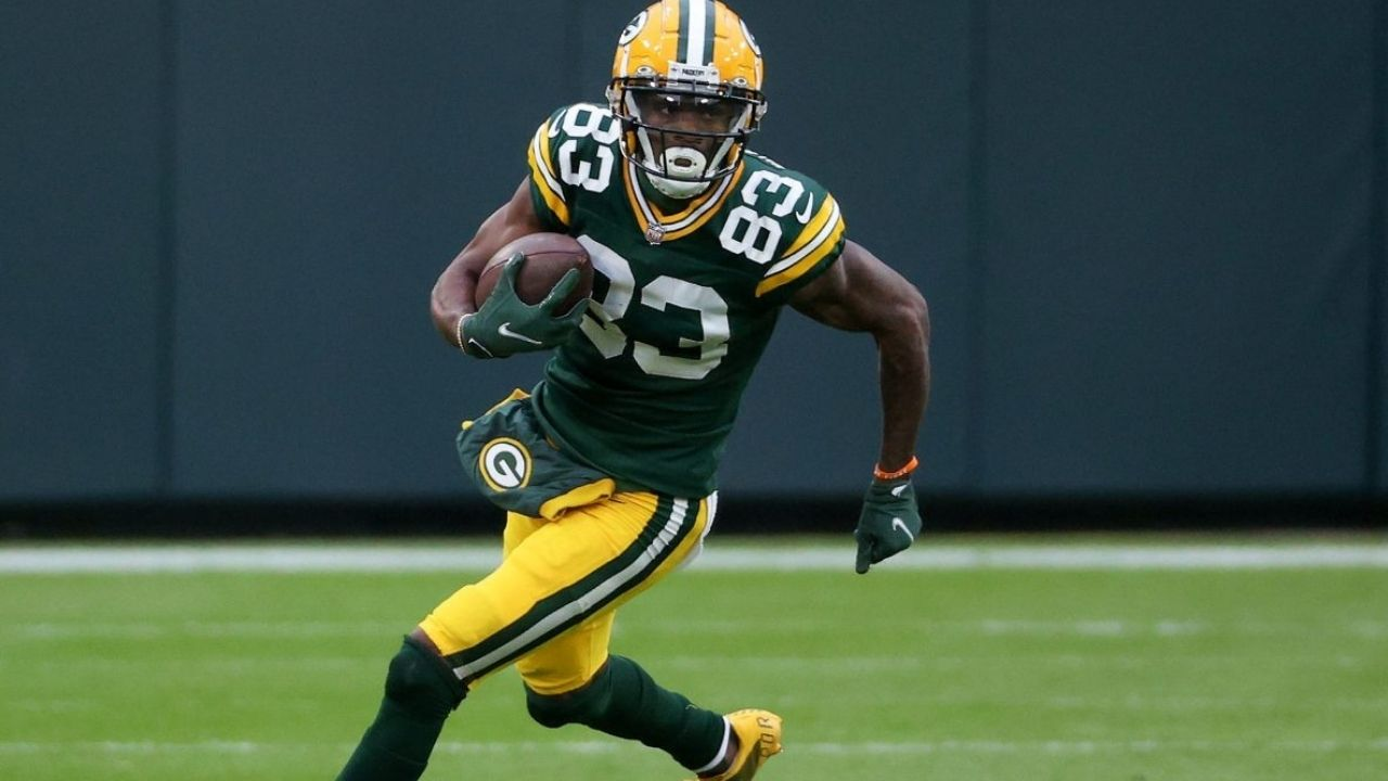 """""""If you can't sack Aaron Rodgers, you can't defend us"""": Packers WR Marquez Valdes-Scantling Boasts About Green Bay's Impressive Receiving Corps"""