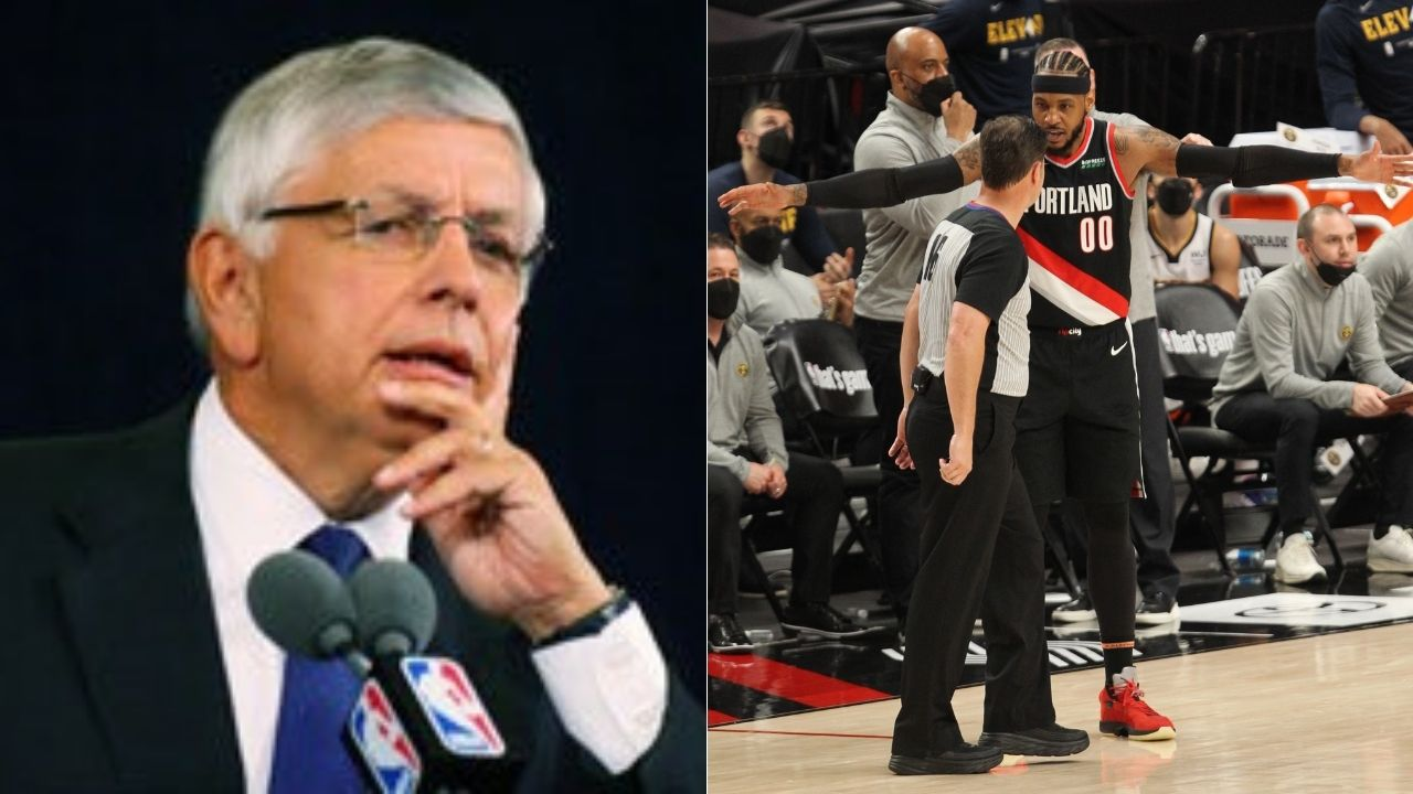"""""""David Stern ran the NBA like a mob boss!"""": Carmelo Anthony remembers legendary commissioner's influence on his 15-day suspension"""