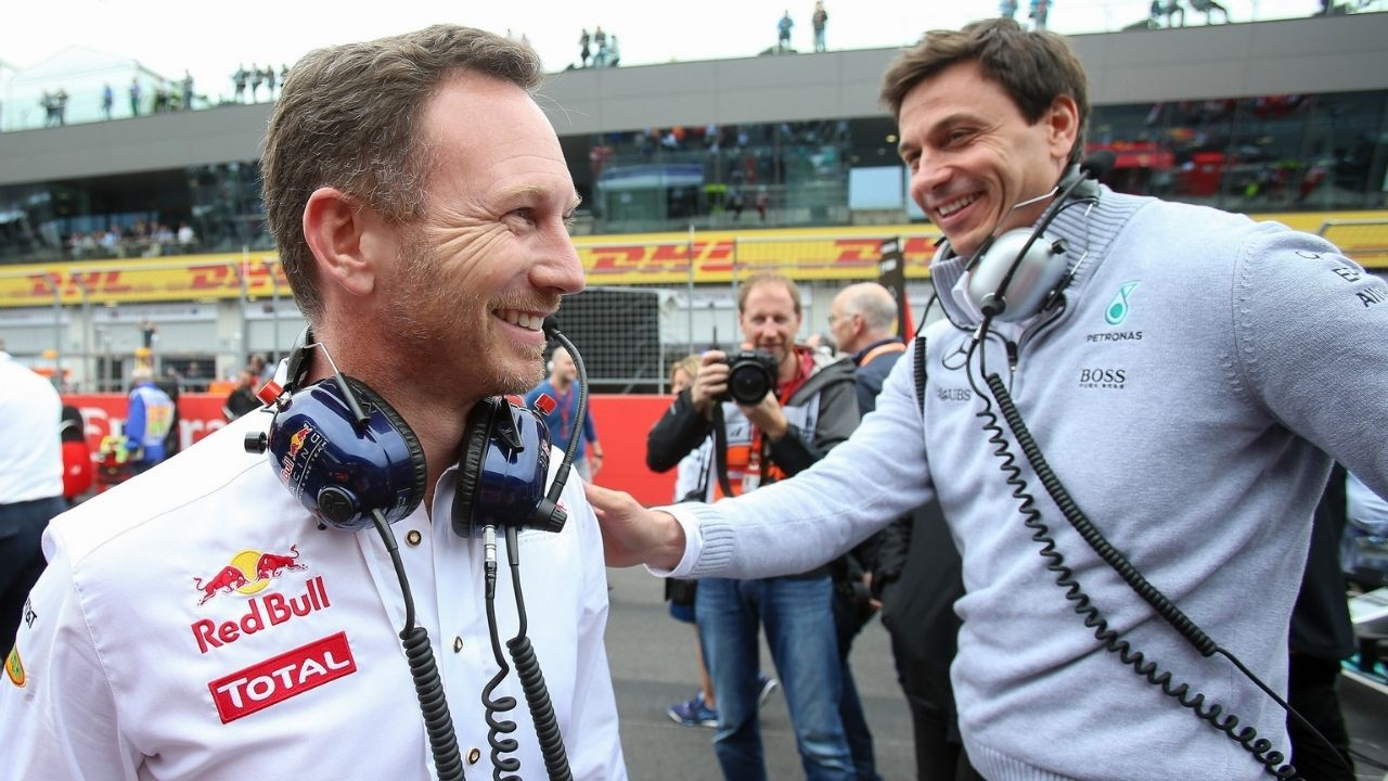 """""""The more Toto gets wound up, the more fun it becomes""""– Christian Horner confesses he loves seeing Toto Wolff in frustration"""