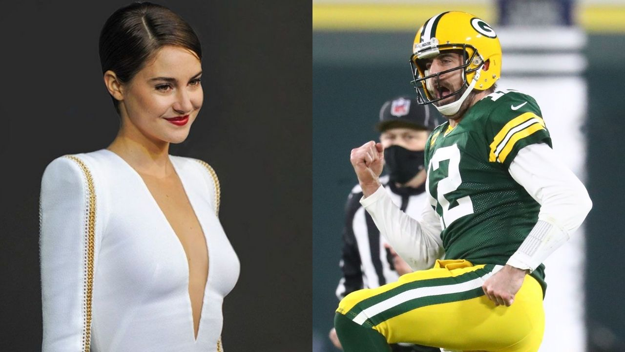 """""""Spending time apart from Shailene Woodley will be a good thing"""": Aaron Rodgers opens up about his long-distance relationship with Fiancee"""
