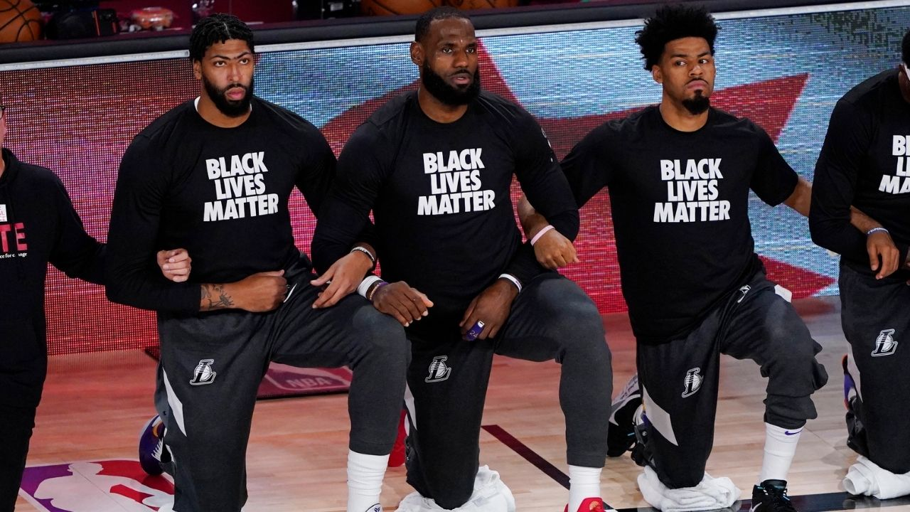 """""""Murders of George Floyd and Breonna Taylor inspired us to take action"""": LeBron James partners with Harrison Barnes to push for policy brutality legislation with More Than A Vote"""