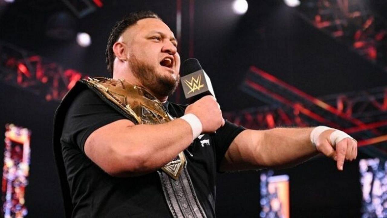 Samoa Joe relinquishes NXT Championship