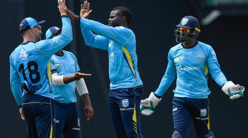 GUY vs SLK Fantasy Prediction: Guyana Amazon Warriors vs St Lucia Kings – 9 September 2021 (St Kitts). Mohammad Hafeez, Imran Tahir, Roston Chase, and Fad du Plessis will be the players to look out for in the Fantasy teams.