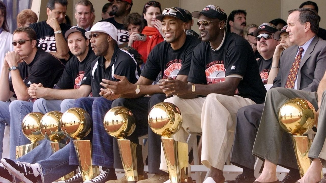 """""""I knew that the trio of Scottie Pippen, Toni Kukoc and myself would rip the league apart!"""": Michael Jordan reveals why he was confident in the Bulls chances to three-peat for a second time"""