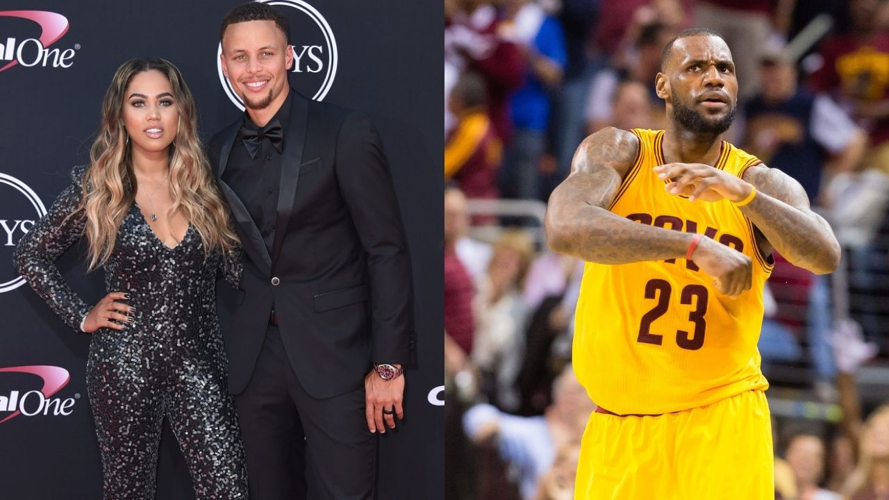 """""""LeBron James got his feelings hurt and took the high road"""": When Ayesha Curry addressed the Cavaliers superstar's postgame comments during the 2016 NBA Finals."""