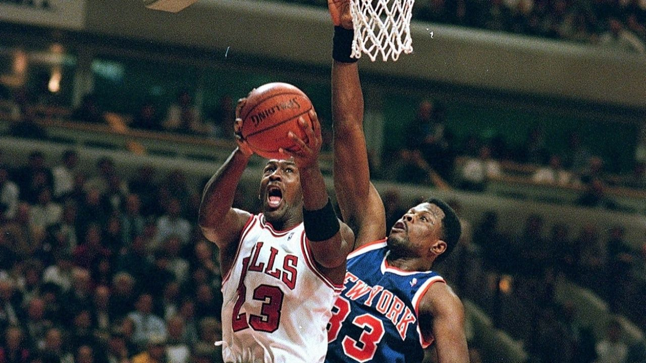"""""""I'd be Michael Jordan in this era"""": Patrick Ewing confidently claimed that he'd be the 'GOAT' if he would've played today as he says there 'aren't many good centers'"""