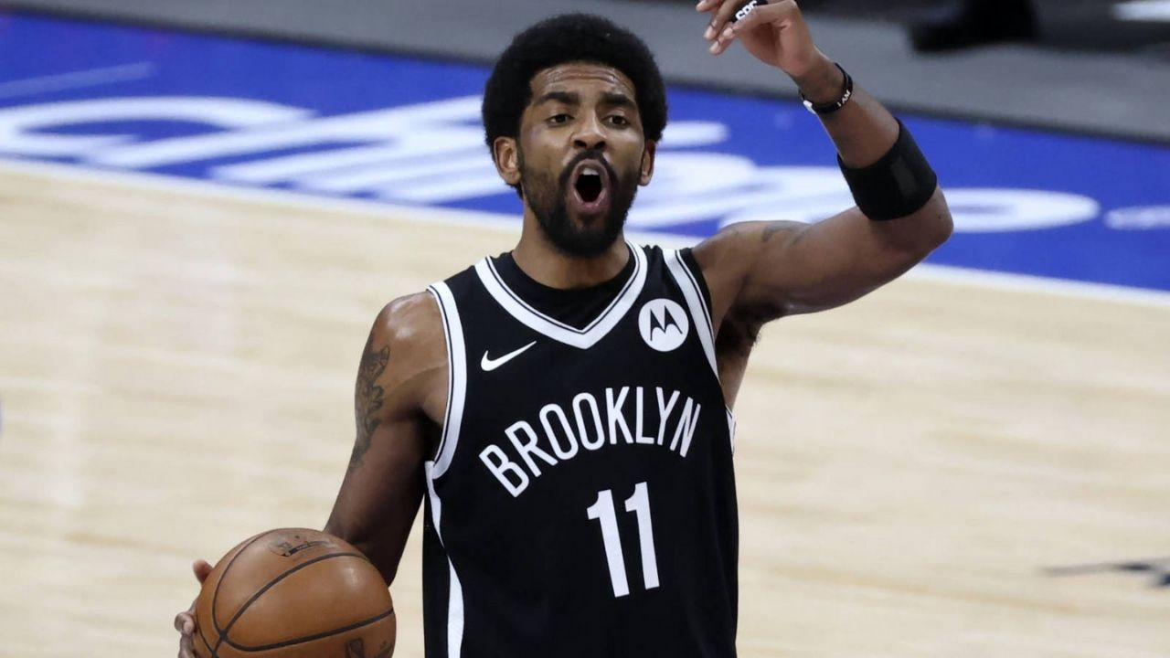 """""""'Mask off' means you stop being something you're not and stop lying to yourself"""": Kyrie Irving clarifies his controversial Tweet has nothing do with the Covid-19 pandemic"""