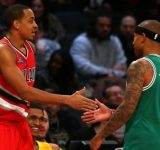 """""""Isaiah Thomas is a ridiculously good and effective player"""": When CJ McCollum lauded the former Celtics star while breaking down his game from the 2016 Playoffs"""
