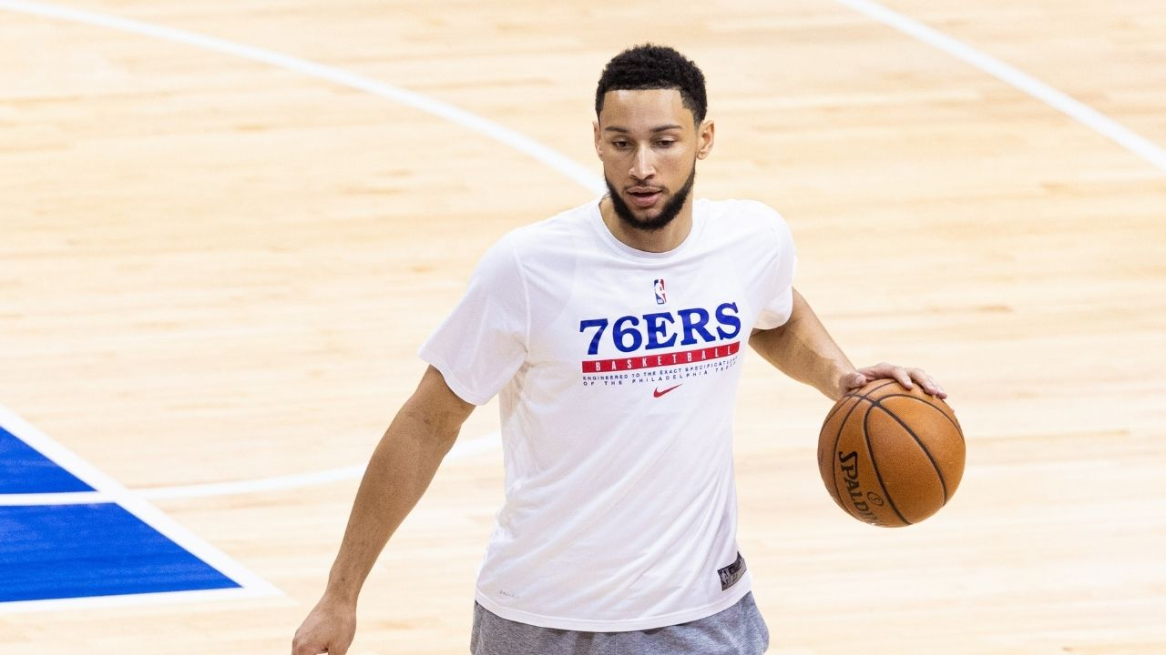 """""""We introduced Ben Simmons to the team like a new guy... unsure if he's play the season opener"""": Head Coach Doc Rivers discloses information about the star's first practice back with the team"""