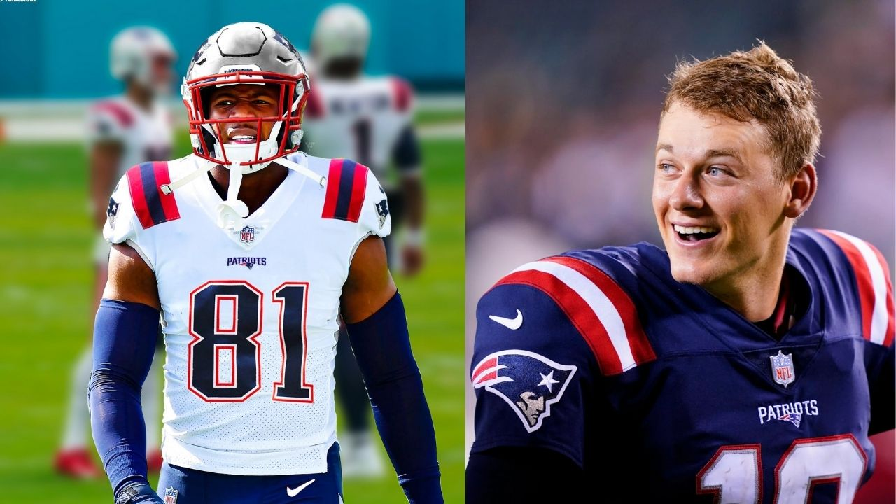 """""""Mac Jones has earned the starting job"""": Jonnu Smith is """"ready to ride with"""" the rookie QB after Patriots released Cam Newton"""