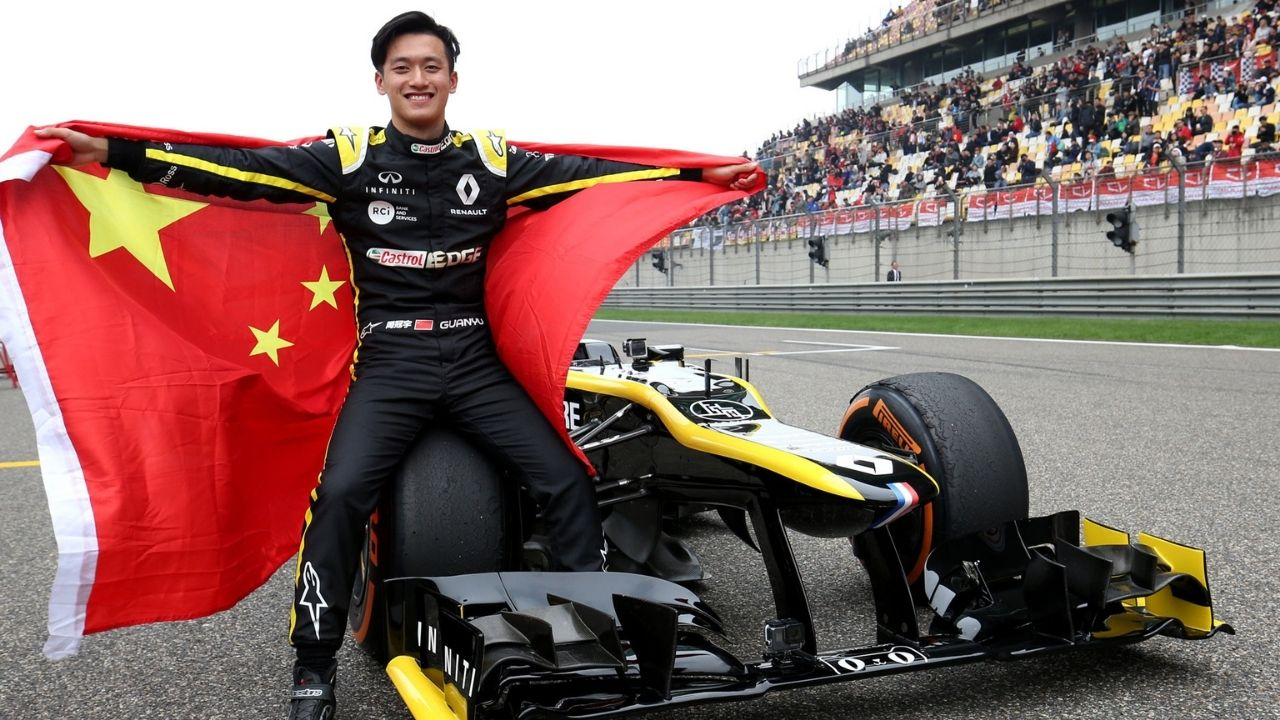 Guanyu Zhou set to be China's first F1 driver with a move to Alfa Romeo reportedly a done deal