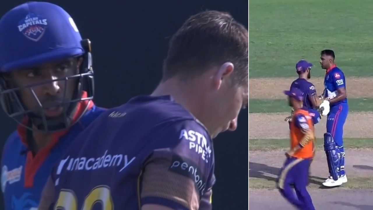R Ashwin fight with Southee and Morgan: Ashwin and Rishabh Pant exchange words with Southee and Morgan in KKR vs DC clash