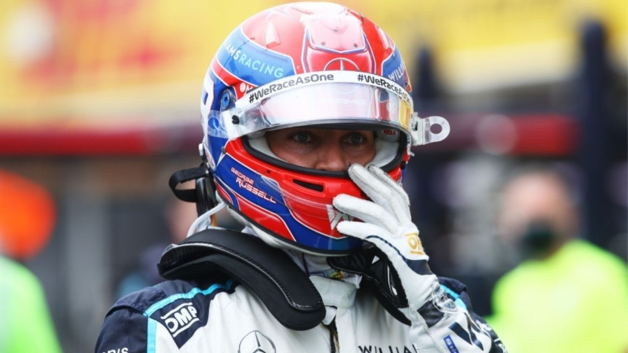 """""""We're going to go for the podium again""""– George Russell reacts to his P3 finish in Qualifying at the Russian GP"""