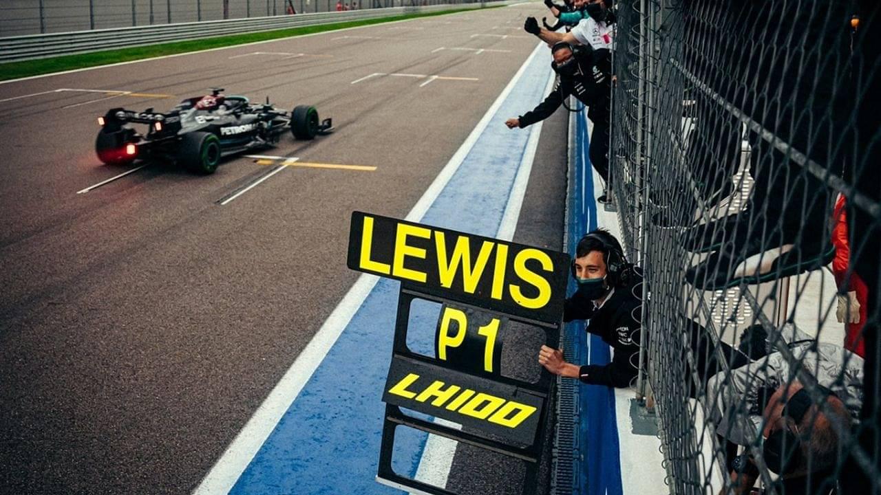 """""""I wasn't sure it would come""""– Lewis Hamilton on his 100th F1 Grand Prix win"""
