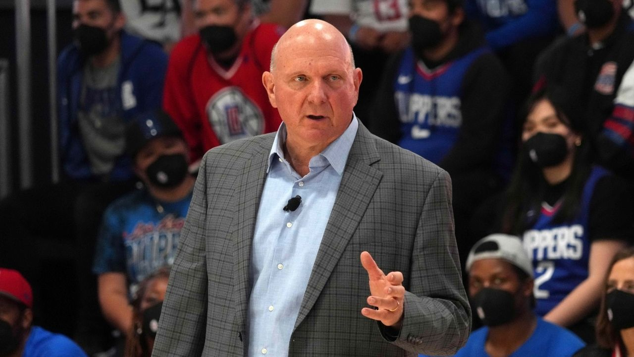 """""""I'm surprised by Lakers fans"""": Steve Ballmer is unable to figure out why Los Angeles rivals and LeBron James fans hate their team"""