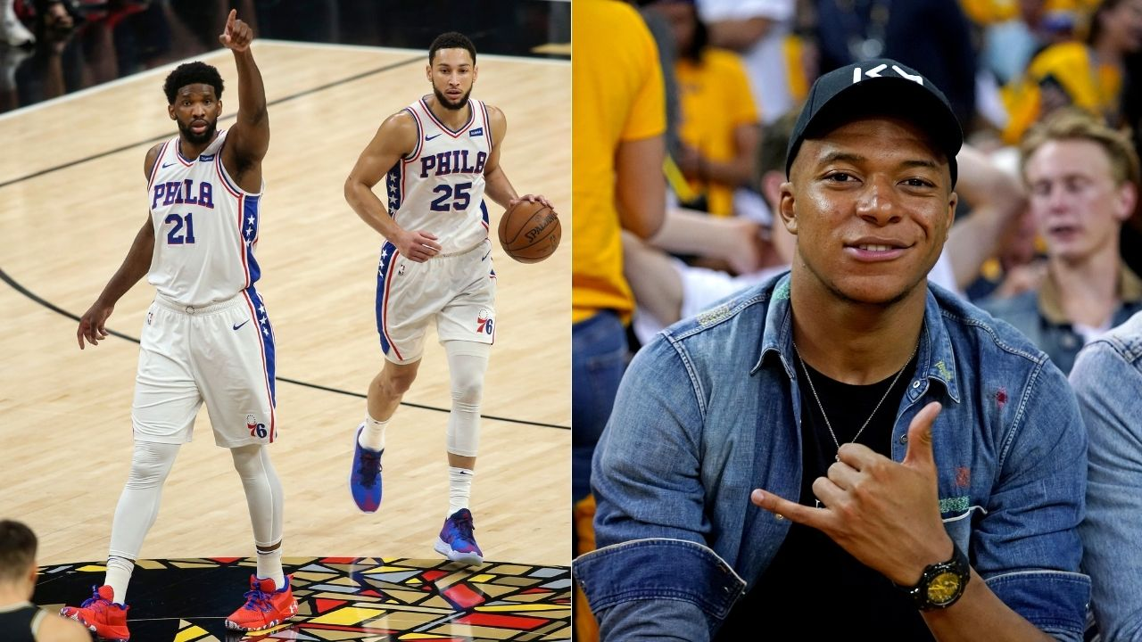"""""""We'll get Kylian Mbappe in January"""": Joel Embiid deflects Ben Simmons and Rich Paul's trade demands while talking up Real Madrid's prospects of landing PSG star"""