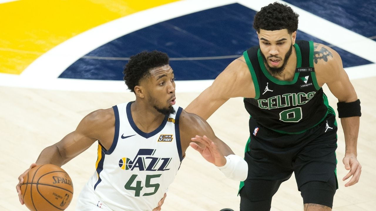 """""""I like Jayson Tatum cuz he's tall and can defend multiple players"""": Tim Hardaway Sr picked Celtics star over Donovan Mitchell as the better prospect in 2018"""